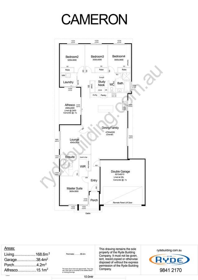 Cameron Floor Plan
