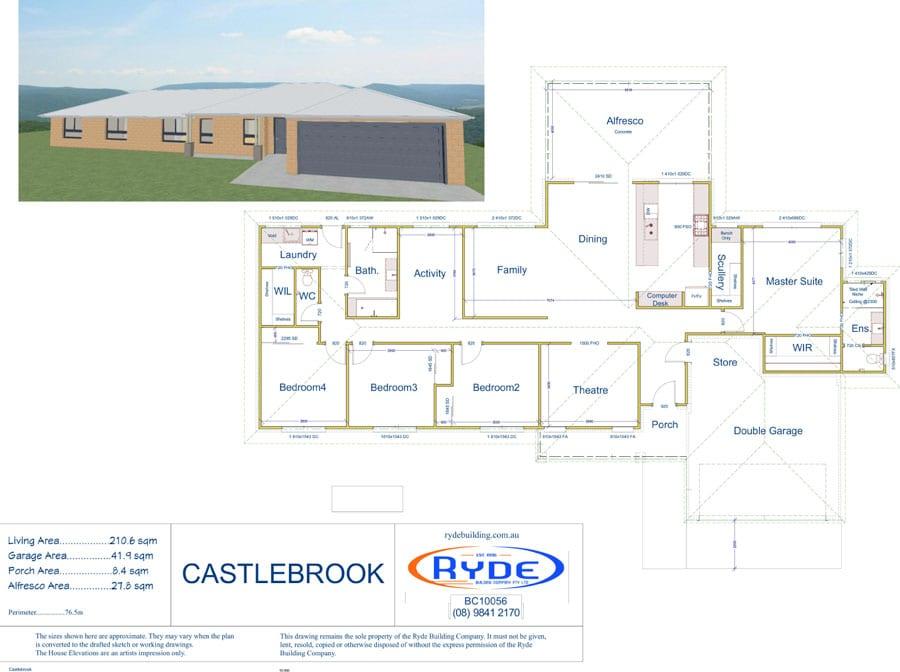 Castlebrook Plans