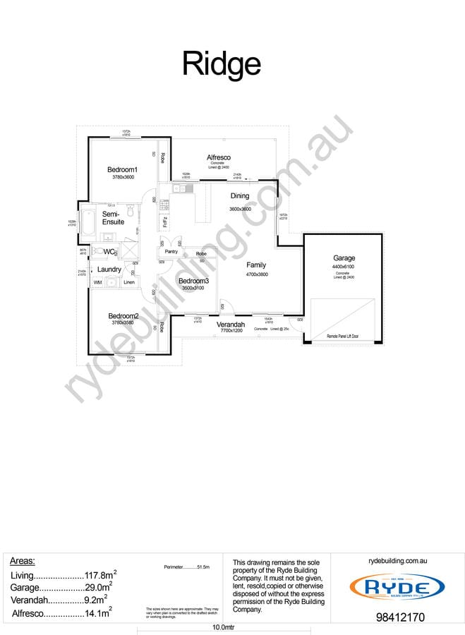 Ridge Floor Plan