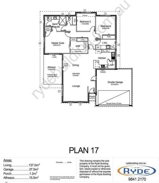 Plan 17